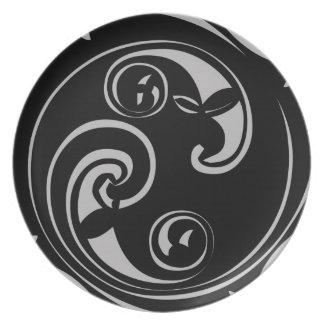 Mayan Block Party Plate