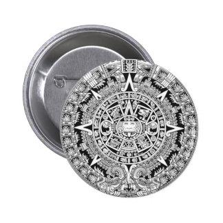 Mayan Calendar 12.21.2012 Aztec 2 Inch Round Button