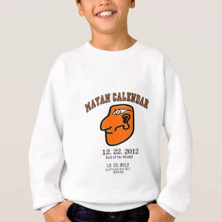 Mayan Calendar 12-22-2012 End of the World! Sweatshirt