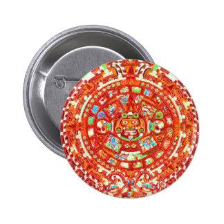 Mayan Calendar 2012 Design Pinback Button