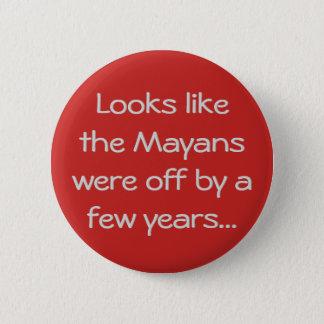 Mayan Calendar 2 Inch Round Button