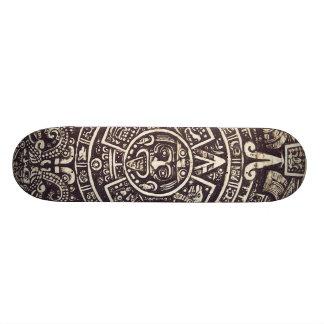 Mayan Calendar Art skateboard