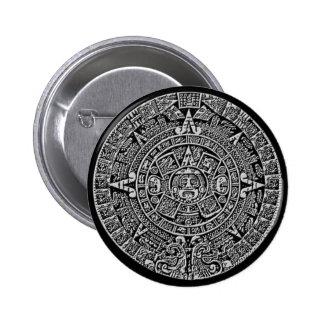 Mayan Calendar Pinback Buttons