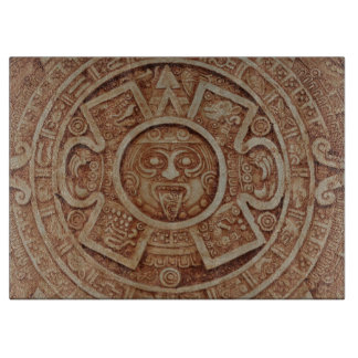 Mayan Calendar Cutting Board