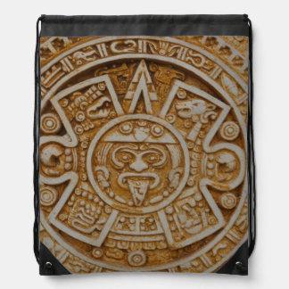 Mayan Calendar Drawstring Bag