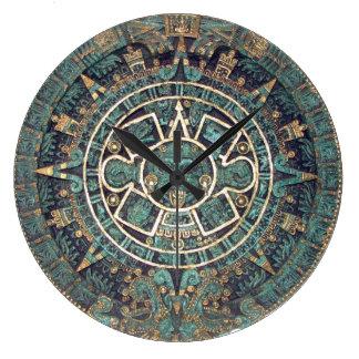 Mayan Calendar Large Clock