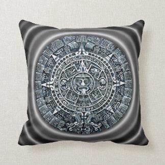 Mayan Calendar / Maya Kalender Throw Pillow