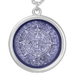 mayan calendar personalized necklace