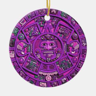 Mayan Calendar Ornament