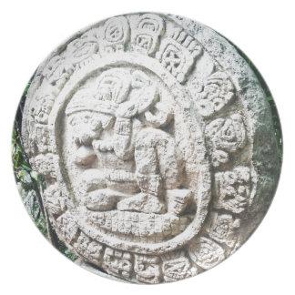 Mayan Calendar Party Plates