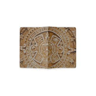 Mayan Calendar Passport Holder