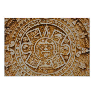 Mayan Calendar Photographic Print