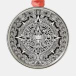 Mayan Calendar Premium Christmas Ornament