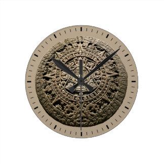 Mayan Calendar Round Clock