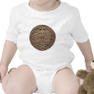 Mayan Calendar Stone 12.21.2012 Baby Bodysuits