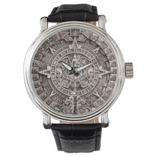 Mayan Calendar Wristwatc Watch