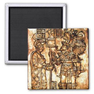 Mayan Carvings Photo Series #1 Magnet