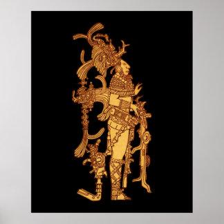 Mayan Ceremonial Dress Poster