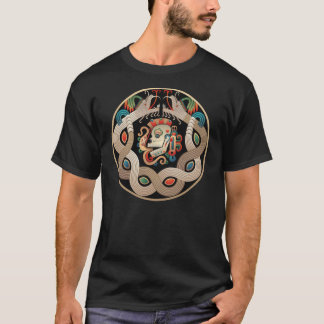 Mayan Cosmic Ball Game T-Shirt