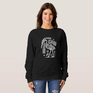 Mayan Crane Sweatshirt