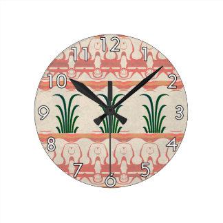 Mayan Design Wall Clocks