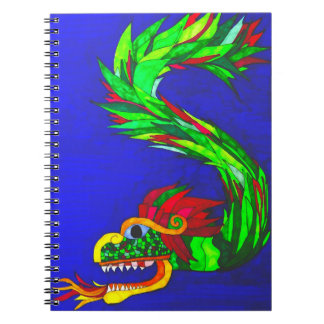 Mayan Dragon Notebook