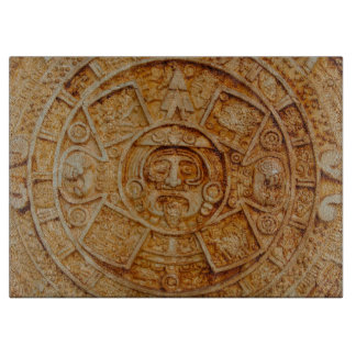 Mayan God Calendar Cutting Board
