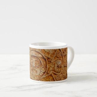 Mayan God Calendar Espresso Cup