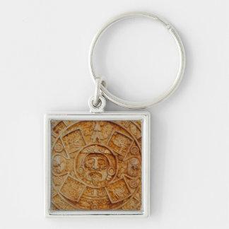 Mayan God Calendar Keychain
