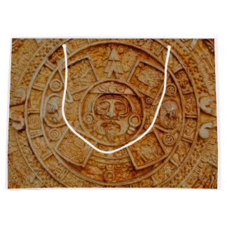 Mayan God Calendar Large Gift Bag