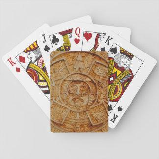 Mayan God Calendar Poker Deck