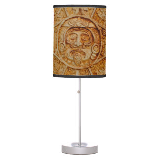 Mayan God Calendar Table Lamp