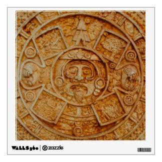 Mayan God Calendar Wall Sticker