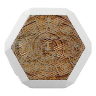 Mayan God Calendar White Bluetooth Speaker
