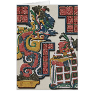 Mayan Greetings Card