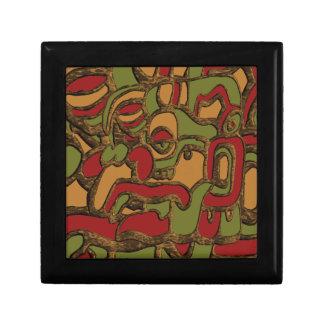 Mayan Hieroglyphs Design Gift Box