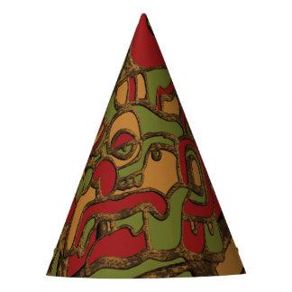 Mayan Hieroglyphs Design Party Hat