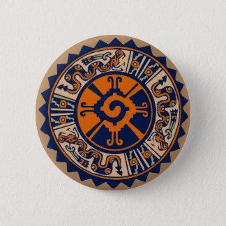 Mayan Hunab Ku 2 Inch Round Button