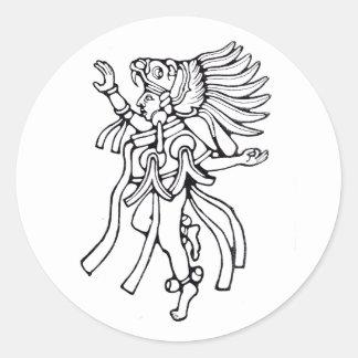 Mayan jaguar dancer - Amazing Mexico sticker