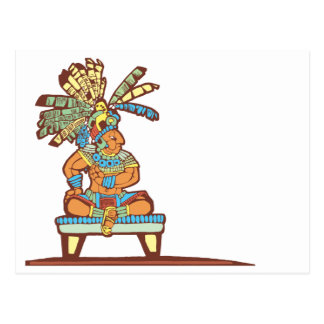 Mayan King Postcard