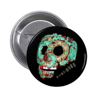 Mayan Mask-2012 2 Inch Round Button