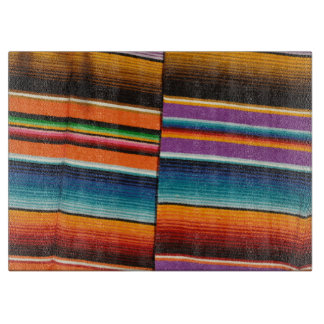 Mayan Mexican Colorful Blankets Boards