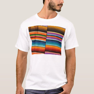 Mayan Mexican Colorful Blankets T-Shirt