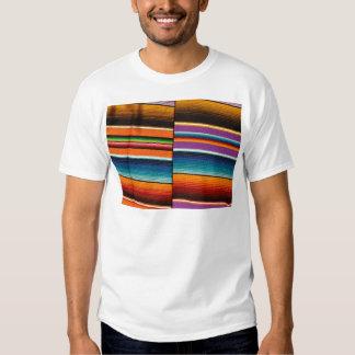 Mayan Mexican Colorful Blankets Tshirts