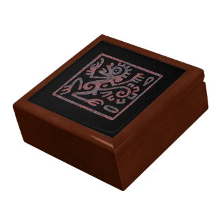 Mayan Monkey Image 2 Gift Box
