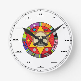 Mayan Number Wall Clock