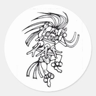 Mayan octopus dancer - Amazing Mexico sticker