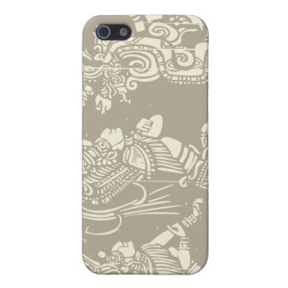 Mayan priests and Vision Serpent Cover For iPhone 5/5S