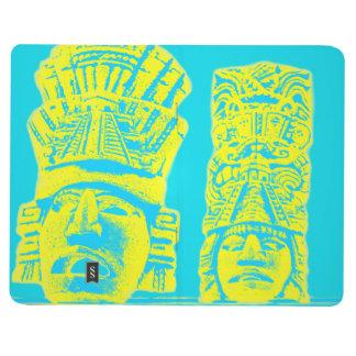 mayan print pocket journal