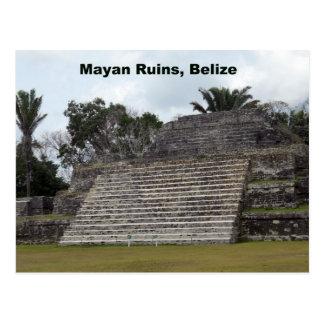 Mayan Ruins, Belize Postcard